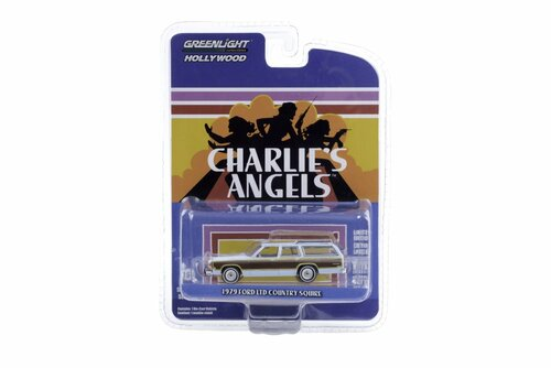 1979 Ford LTD Country Squire, Charlie's Angels - Greenlight 44890/48 - 1/64 scale Diecast Model Toy Car
