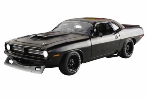 1970 Plymouth Barracuda Trans Am, #42 Street Version - Acme 1806108 - 1/18 scale Diecast Model Toy Car