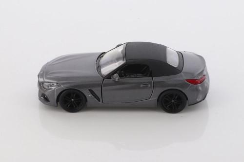 BMW Z4, Gray - Kinsmart 5419D - 1/34 scale Diecast Model Toy Car