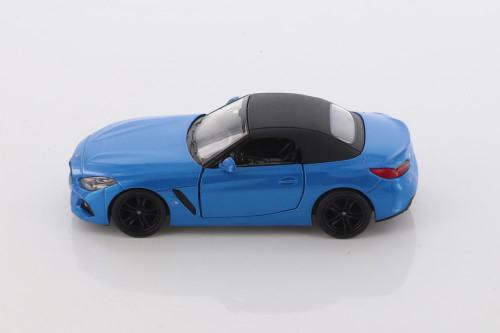 BMW Z4, Blue - Kinsmart 5419D - 1/34 scale Diecast Model Toy Car