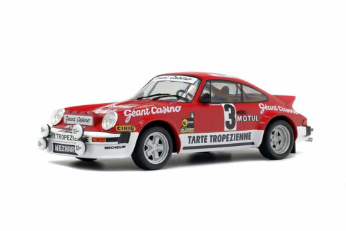 1979 Porsche 911 SC Gr.4 Hard Top, #3 Rallye d'Armor/Beguin - Solido S1800804 - 1/18 Scale Diecast Model Toy Car