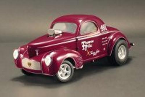 1941 Gasser, Burgundy - Acme 1800909 - 1/18 scale Diecast Model Toy Car