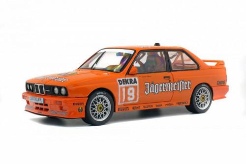 1992 BMW E30 M3 DTM Hardtop, Orange - Solido S1801504 - 1/18 scale Diecast Model Toy Car