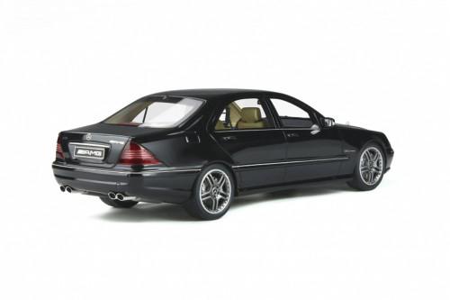 2004 Mercedes-Benz S Class (W220) S65 AMG, Obsidian Black - Ottomobile OT846 - 1/18 scale Resin Model Toy Car