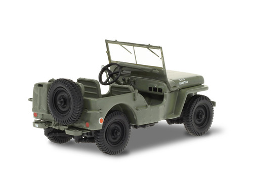 1942 Willys MB Jeep, M*A*S*H - Greenlight 86589 - 1/43 scale Diecast Model Toy Car