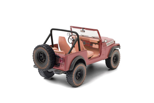 1981 Jeep CJ-7 - Animal Preserve (Dirty Version), The A-Team - Greenlight 19091 - 1/18 scale Diecast Model Toy Car