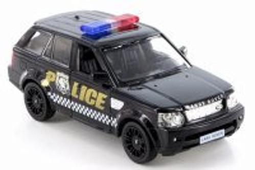 Land Rover Range Rover Sport Police, Black - RMZ City 555007P - Diecast Model Toy Car
