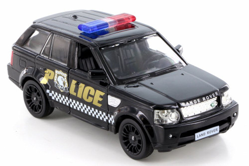 Land Rover Range Rover Sport Police, Black - RMZ City 555007P - Diecast Model Toy Car