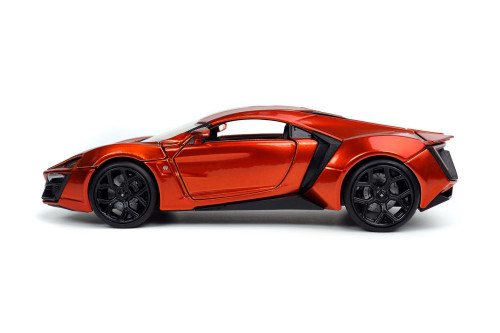 2017 Lykan Hypersport, Copper/Bronze - Jada Toys 32278/4 - 1/24 scale Diecast Model Toy Car