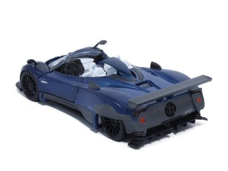 Pagani Zonda HP Barchetta, Blue - Tayumo 36120210 - 1/36 scale Diecast Model Toy Car