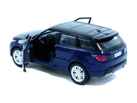 Land Rover Range Rover Sport, Portofino Blue - Tayumo 36100017 - 1/36 scale Diecast Model Toy Car