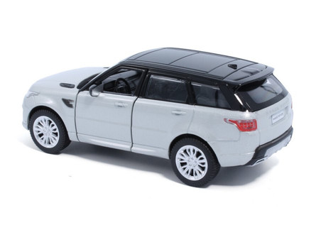 Land Rover Range Rover Sport, Indus Silver - Tayumo 36100016 - 1/36 scale Diecast Model Toy Car