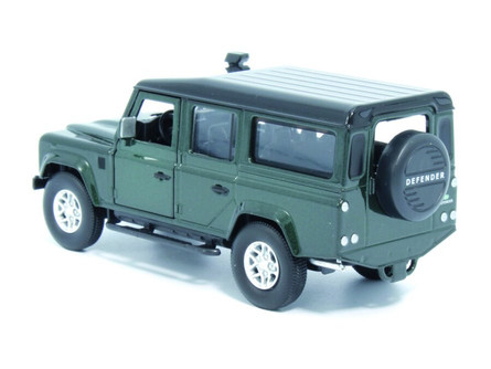 Land Rover Defender 110, Galway Green - Tayumo 36100012 - 1/36 scale Diecast Model Toy Car