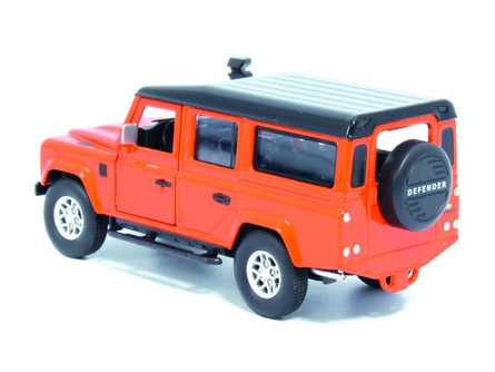 Land Rover Defender 110, Tangiers Orange - Tayumo 36100010 - 1/36 scale Diecast Model Toy Car