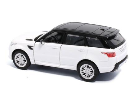 Land Rover Range Rover Sport, Fuji White - Tayumo 36100015 - 1/36 scale Diecast Model Toy Car