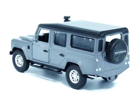 Land Rover Defender 110, Stornoway Gray - Tayumo 36100013 - 1/36 scale Diecast Model Toy Car
