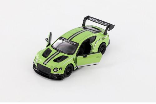 2018 Bentley GT3, Green - Kinsmart 5417D - 1/38 scale Diecast Model Toy Car