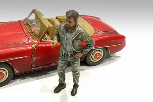 Auto Mechanic - Mechanic Tim, Green - American Diorama 76359 - 1/24 scale Figurine - Diorama Accessory