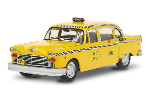 1974 Checker Taxi Sunshine Cab Company, Taxi - Greenlight 86601 - 1/43 scale Diecast Model Toy Car