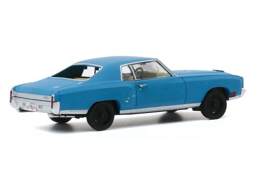 "1972 Chevy Monte Carlo, Ace Ventura ""Pet Detective"" - Greenlight 86564 - 1/43 scale Diecast Model Toy Car"
