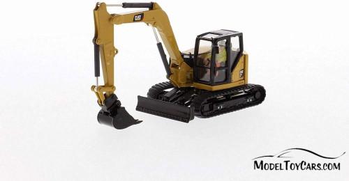 Caterpillar 309 CR Mini Hydraulic Excavator, Yellow - Diecast Masters 85592 - 1/50 scale Diecast Model Toy Car