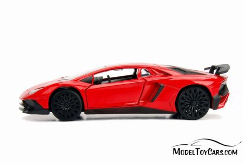 2017 Lamborghini Aventador Hard Top, Red - Jada 30109WA1 - 1/32 scale Diecast Model Toy Car