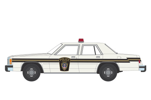 1983 Ford LTD Crown Victoria Ardis MD Police, The X-Files - Greenlight 44900C/48 - 1/64 scale Diecast Model Toy Car
