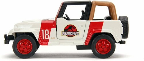 Jeep Wrangler, Jurassic World - Jada Toys 32129/24 - 1/32 scale Diecast Model Toy Car