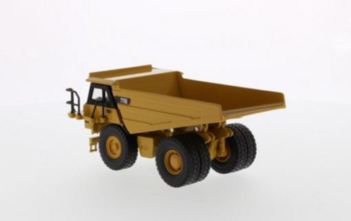 Caterpillar 775E Off-Highway Dump Truck, Yellow - Diecast Masters 85616 - 1/64 scale Diecast Vehicle Replica