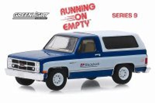1983 GMC Jimmy Sierra Classic Pickup Truck with Camper Shell, BFGoodrich - Greenlight 41090F/48 - 1/64 scale Diecast Model Toy Car
