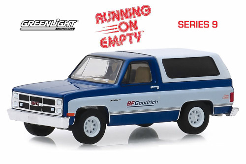 1983 GMC Jimmy Sierra Classic Pickup Truck with Camper Shell, BFGoodrich - Greenlight 41090F/48 - 1/64 scale Diecast Model Toy Car