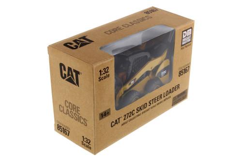 Caterpillar 272C Skid Steer Loader, Yellow - Diecast Masters 85167C - 1/32 scale Diecast Model Vehicle