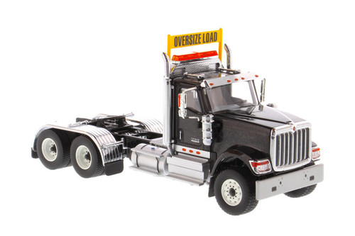International HX520SFFATandem Tractor (Cab only), Black - Diecast Masters 71003 - 1/50 scale Diecast Model Toy Car
