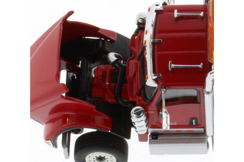 International HX520SFFATandem Tractor (Cab only), Red - Diecast Masters 71002 - 1/50 scale Diecast Model Toy Car