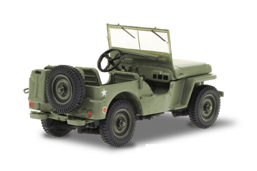 1942 Willys MB Jeep Army Brigadier General, M*A*S*H - Greenlight 86593 - 1/43 scale Diecast Model Toy Car