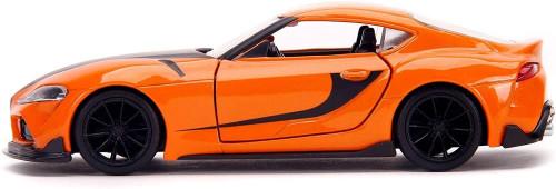 Han's 2020 Toyota Supra, Orange - Jada Toys 32016 - 1/32 scale Diecast Model Toy Car