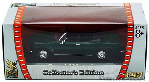 1969 Chevrolet Corvair Monza Convertible, Green - Yatming 94241 - 1/43 Scale Diecast Model Toy Car