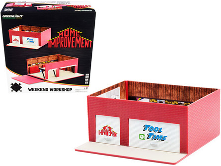 Weekend Workshop, Home Improvement - Greenlight 57071 - 1/64 scale Diorama Accessory