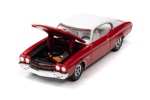1970 Chevy Chevelle SS 396, Cranberry Red - RC2 RC012/48 - 1/64 scale Diecast Model Toy Car