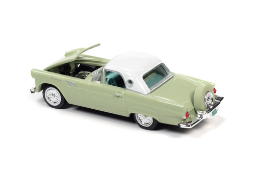 1956 Ford Thunderbird, Willow Mist Green - RC2 RC012/48 - 1/64 scale Diecast Model Toy Car