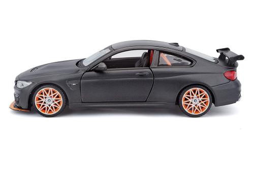 BMW M4 GTS, Dark Gray - Maisto 31246GY - 1/24 scale Diecast Model Toy Car