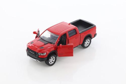 2019 Dodge Ram 1500 Crew Cab Rebel, Red - Motor Max 73679/2D - Diecast Model Toy Car