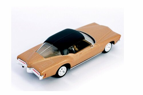 1972 Buick Riviera GS Hardtop, Gold - Lucky Road Signature 94252G - 1/43 scale Diecast Model Toy Car