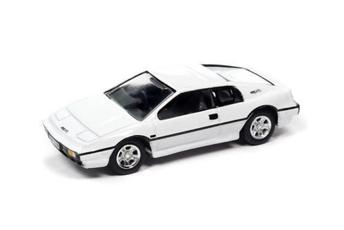1976 Lotus Esprit S1 w/Tin, James Bond The Spy Who Loved Me - Johnny Lightning JLDR014/24 - 1/64 scale Diecast Model Toy Car