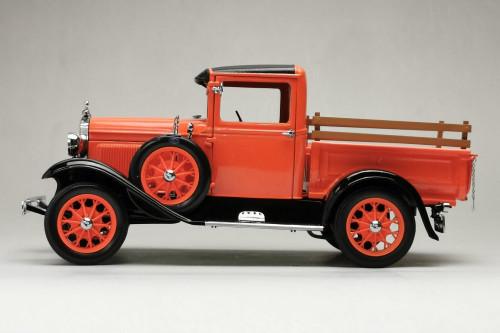 1931 Ford Model A Pick Up, Pegex Orange - Sun Star 6116 - 1/18 scale Diecast Model Toy Car