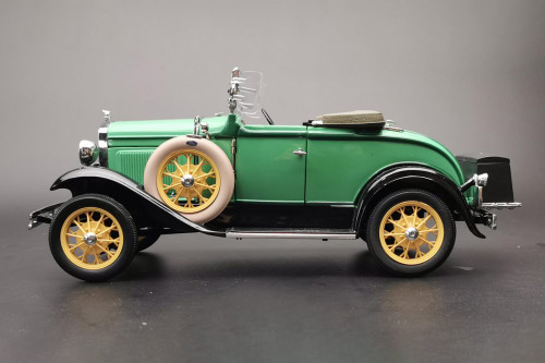 1931 Ford Model A Roadster, Reseda Green - Sun Star 6127 - 1/18 scale Diecast Model Toy Car