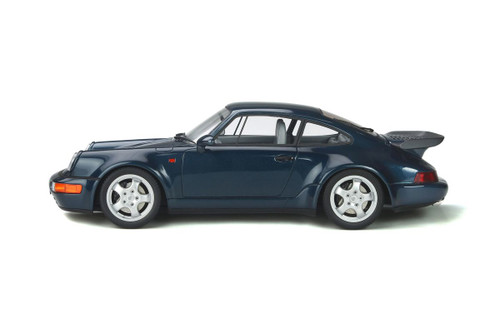 1991 Porsche 911 (964) Turbo 3.3 Hardtop, Amazon Green - GT Spirit GT315 - 1/18 scale Resin Model Toy Car