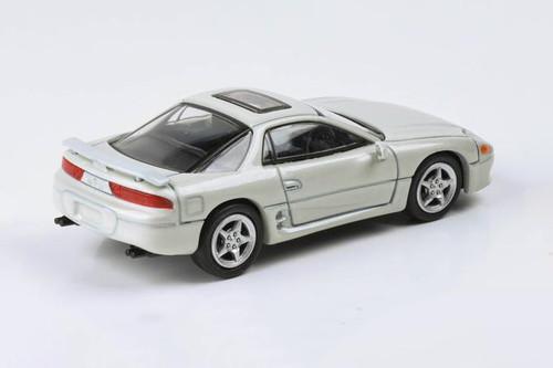 Mitsubishi 3000GT GTO LHD Hardtop, Glacier White Pearl - Paragon PA55133W - 1/64 scale Diecast Model Toy Car