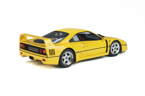 1987 Ferrari F40, Yellow - GT Spirit GT839 - 1/18 scale Resin Model Toy Car