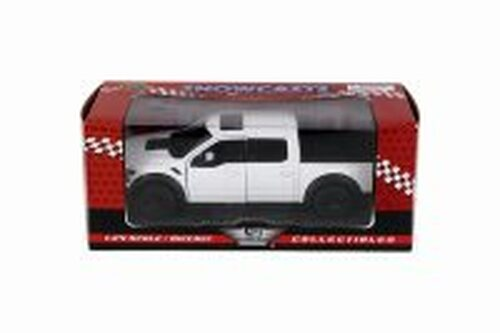 2017 Ford F-150 Raptor Pickup, White - Showcasts 79344W - 1/27 scale Diecast Model Toy Car